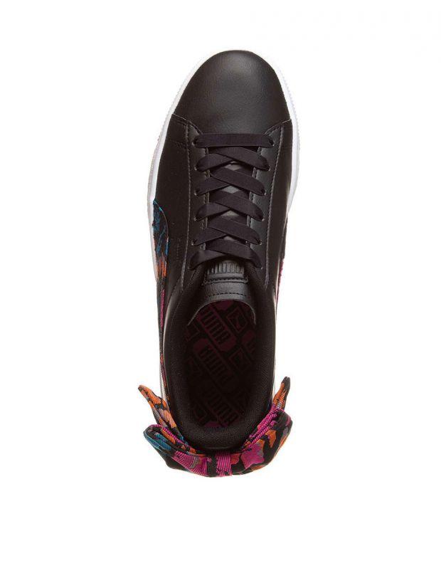 PUMA Basket Bow Wonderland Trainer Black - 369239-01 - 4