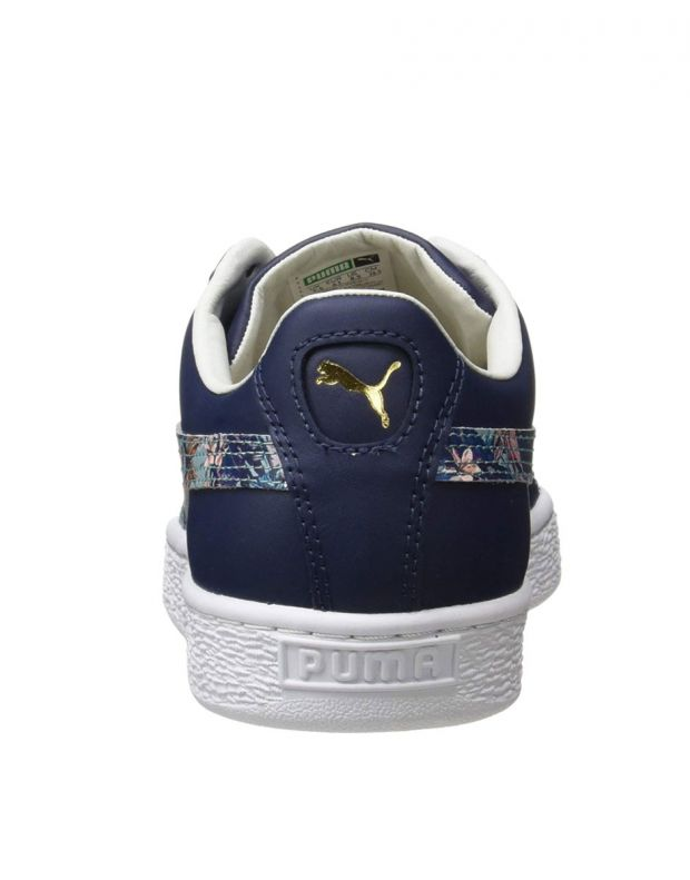 PUMA Basket Classic Secret Garden Navy - 369168-01 - 5