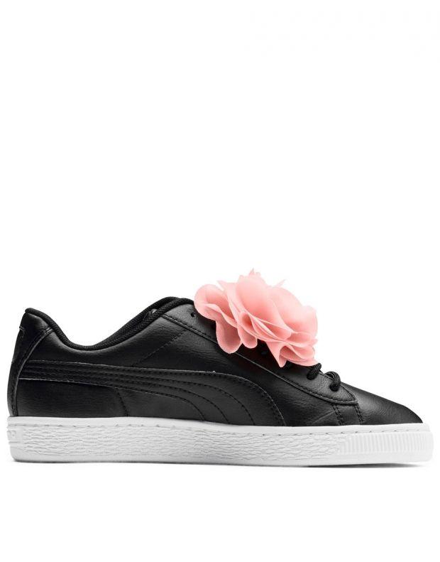 PUMA Basket Flower Black - 368950-02 - 2