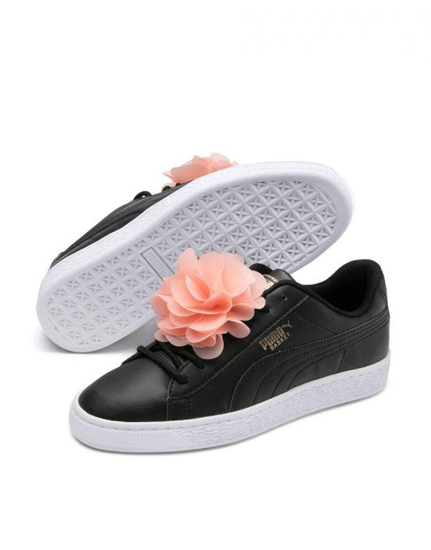 PUMA Basket Flower Black - 368950-02 - 3