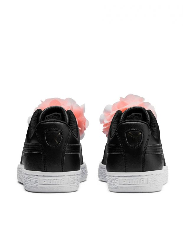 PUMA Basket Flower Black - 368950-02 - 4