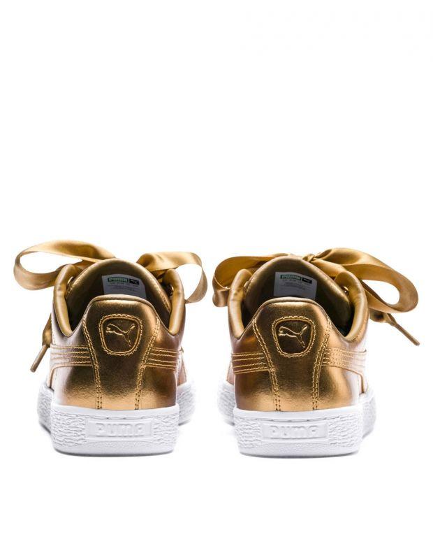 PUMA Basket Heart Luxe Gold - 366730-02 - 4
