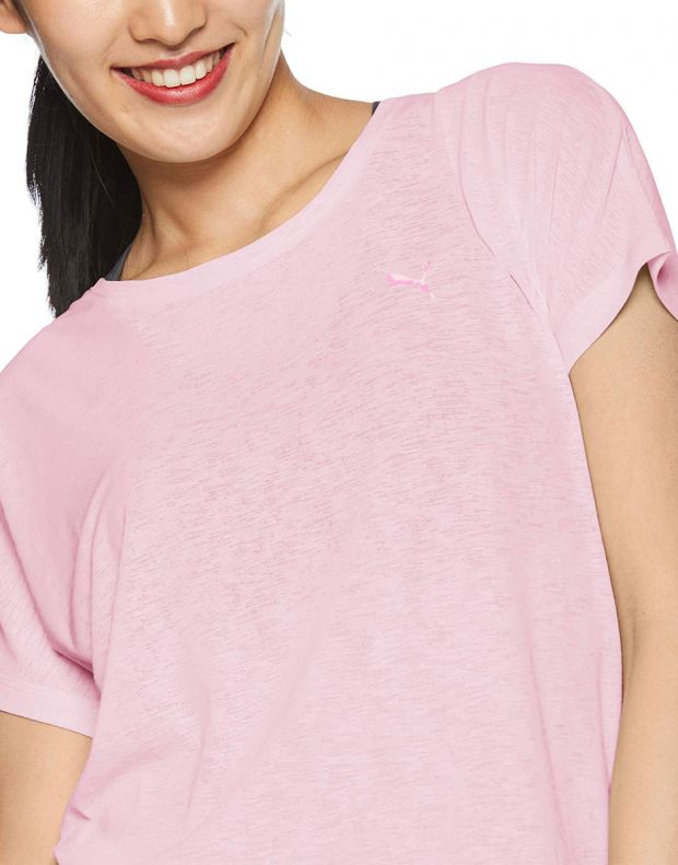PUMA Bold Tee Pink - 517965-01 - 3