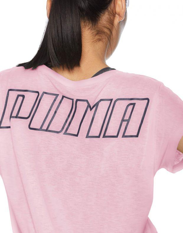 PUMA Bold Tee Pink - 517965-01 - 4