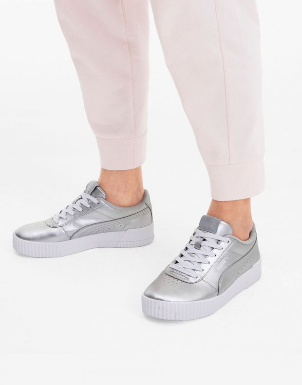 PUMA Carina Sneakers Metallic  - 372852-01 - 7