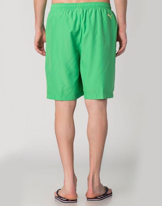 PUMA Casual Logo Shorts Green - 828194-07 - 2