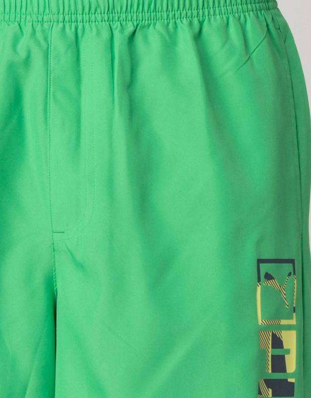 PUMA Casual Logo Shorts Green - 828194-07 - 4