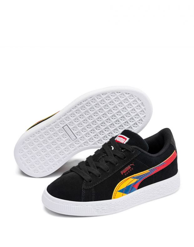 PUMA Classic Lightning Sneakers Black - 370386-02 - 3