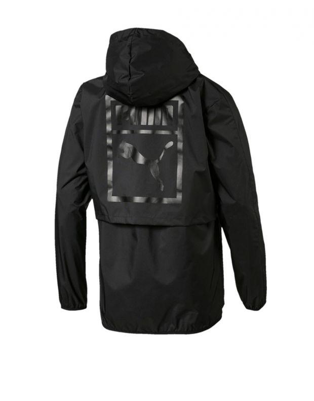 PUMA Classics Archive Logo Windbreaker Jacket Black - 573316-01 - 2
