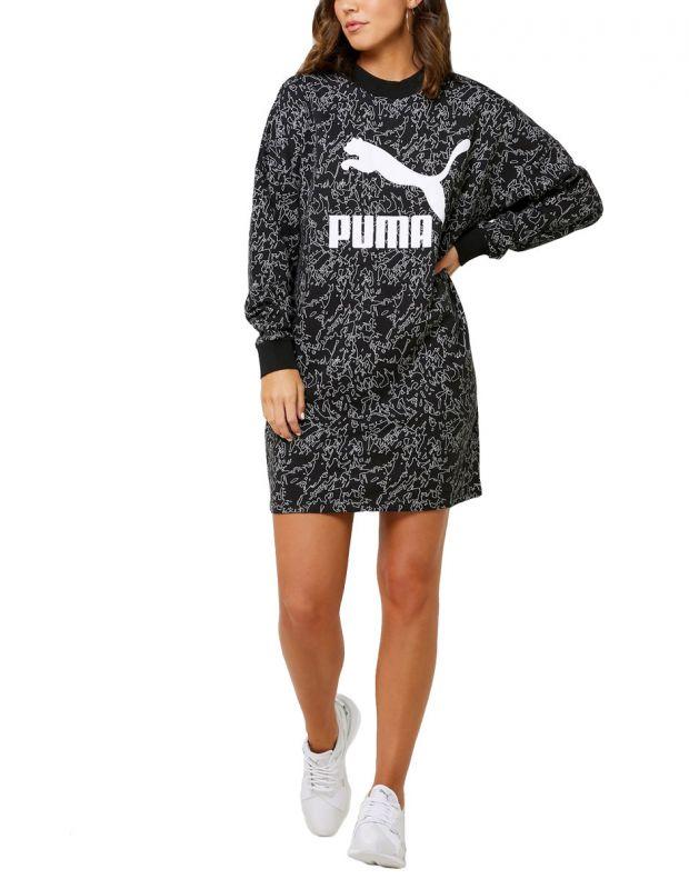 PUMA Classics Dress AOP Black - 595219-51 - 1