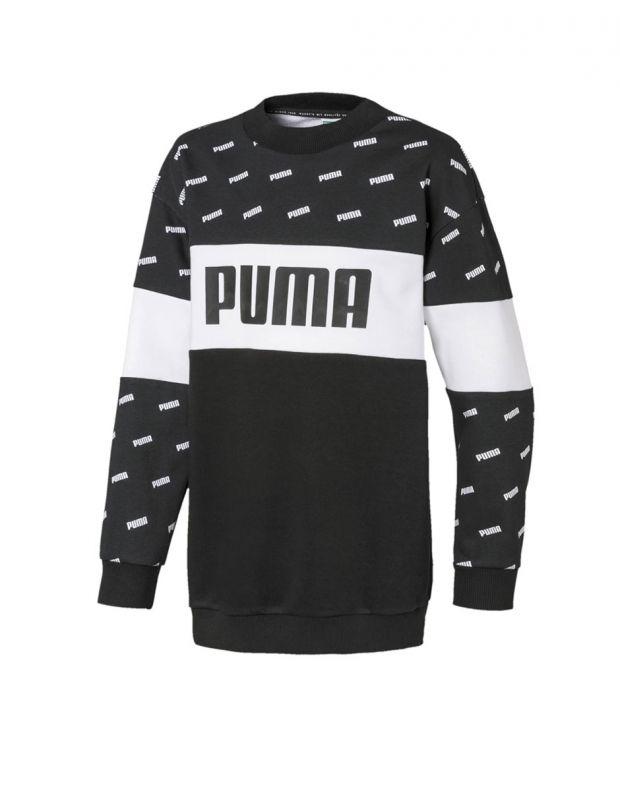 PUMA Classics Graphics Crew Black - 596401-01 - 1