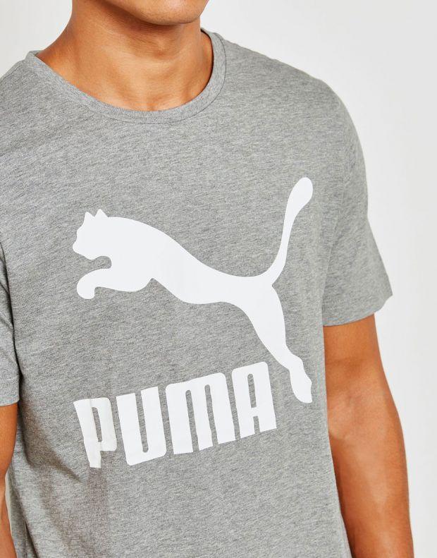 PUMA Classics Logo Tee Grey - 3