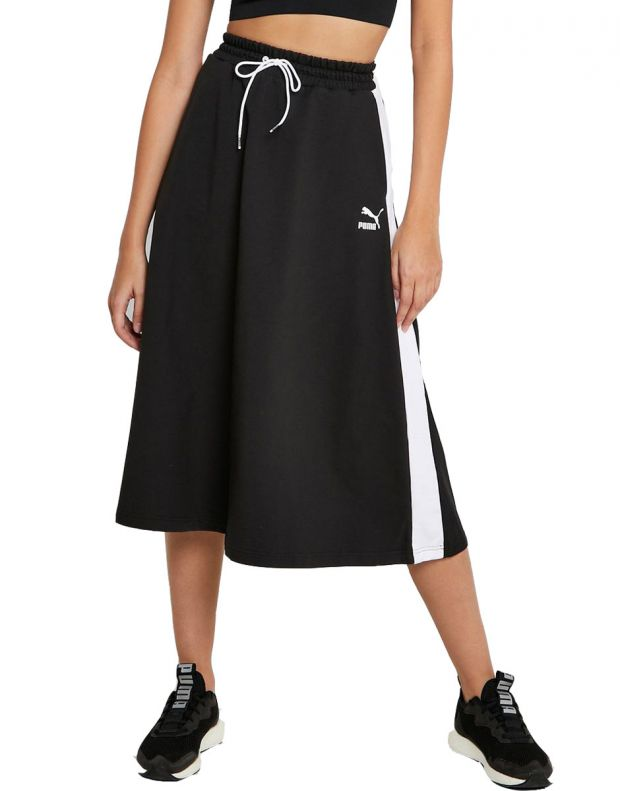 PUMA Classics Long Skirt Black - 597416-01 - 1