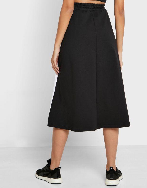 PUMA Classics Long Skirt Black - 597416-01 - 2