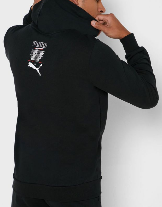 PUMA Club Hoody Black - 597322-01 - 2