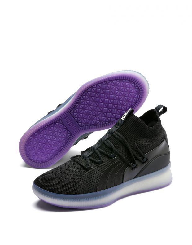 PUMA Clyde Court Sneakers Black  - 3