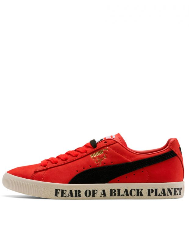 PUMA Clyde X Public Enemy High Risk Red - 374539-01 - 1