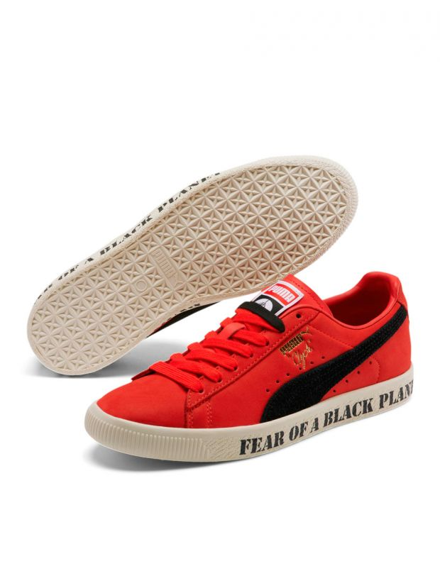 PUMA Clyde X Public Enemy High Risk Red - 374539-01 - 3