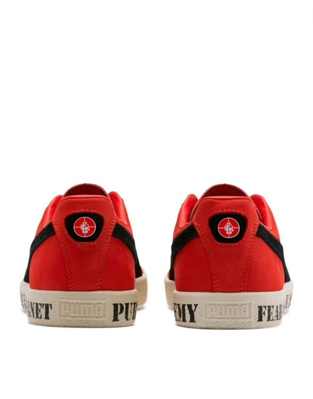 PUMA Clyde X Public Enemy High Risk Red - 374539-01 - 4