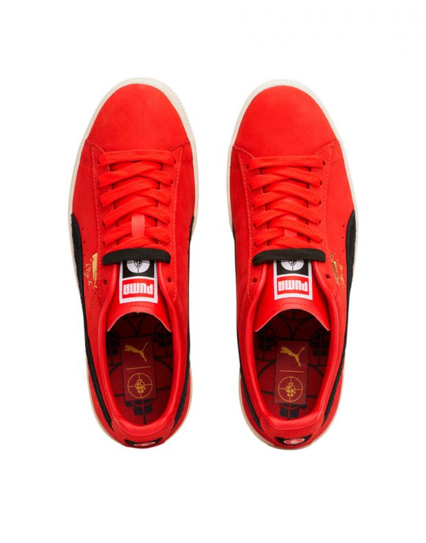 PUMA Clyde X Public Enemy High Risk Red - 374539-01 - 5