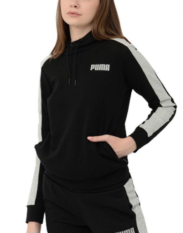 PUMA Contrast Hoodie Black - 844275-01 - 1
