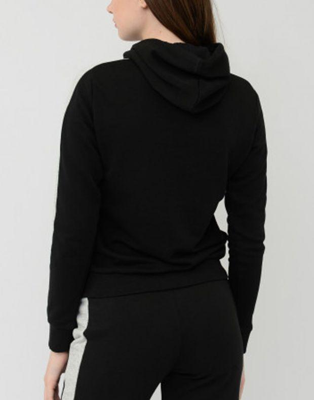 PUMA Contrast Hoodie Black - 844275-01 - 2