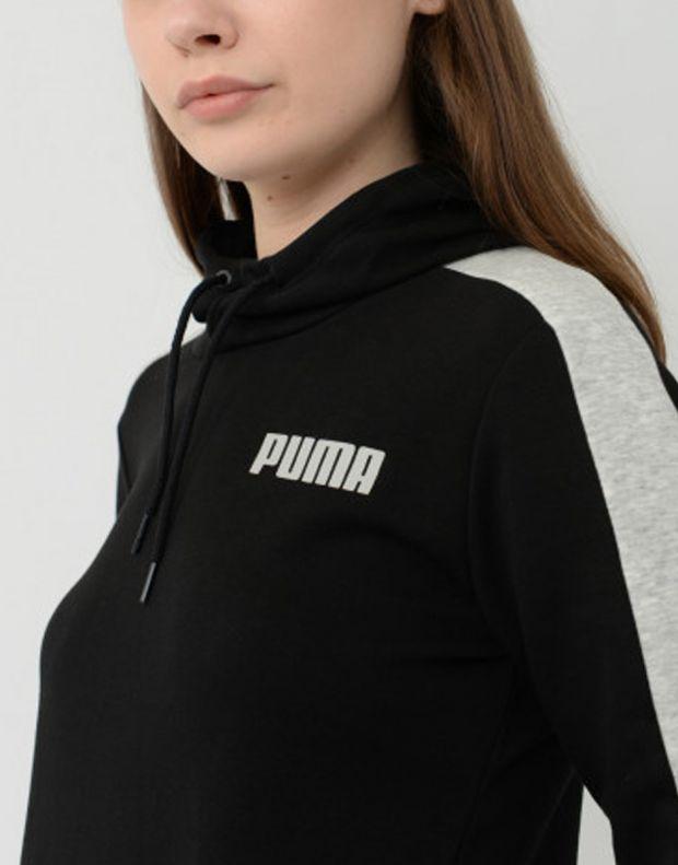 PUMA Contrast Hoodie Black - 844275-01 - 3