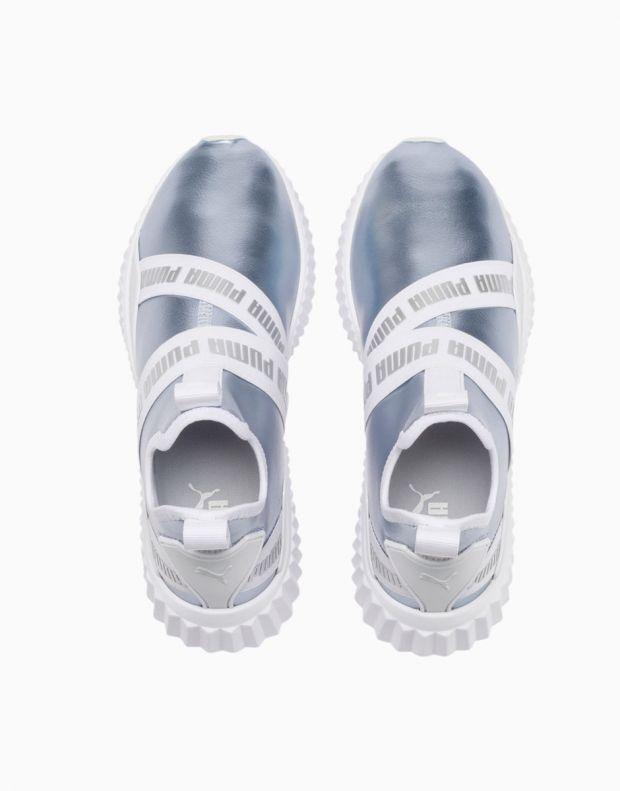 PUMA Defy Mid Metallic Grey - 192620-01 - 5