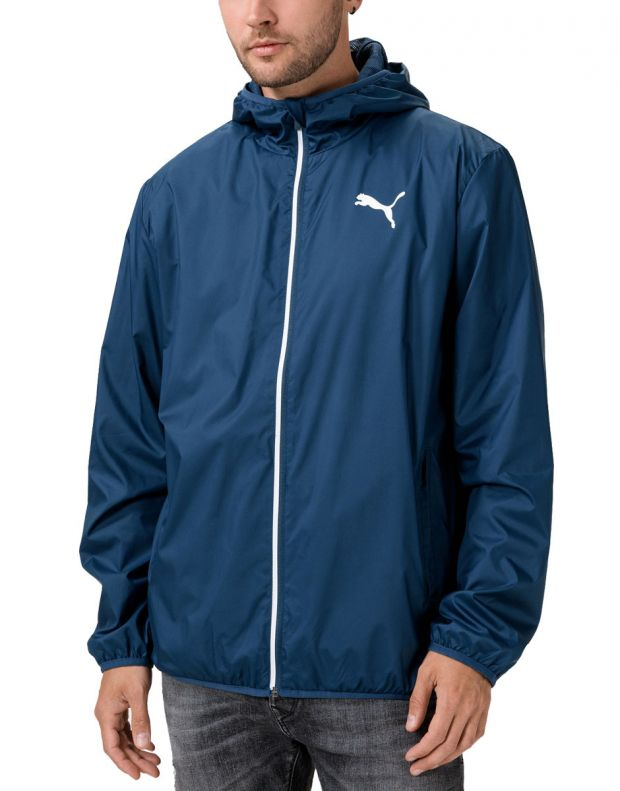 PUMA Essentials Solid Windbreaker Navy - 582696-43 - 1
