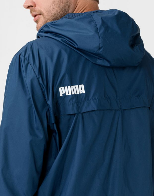 PUMA Essentials Solid Windbreaker Navy - 582696-43 - 4