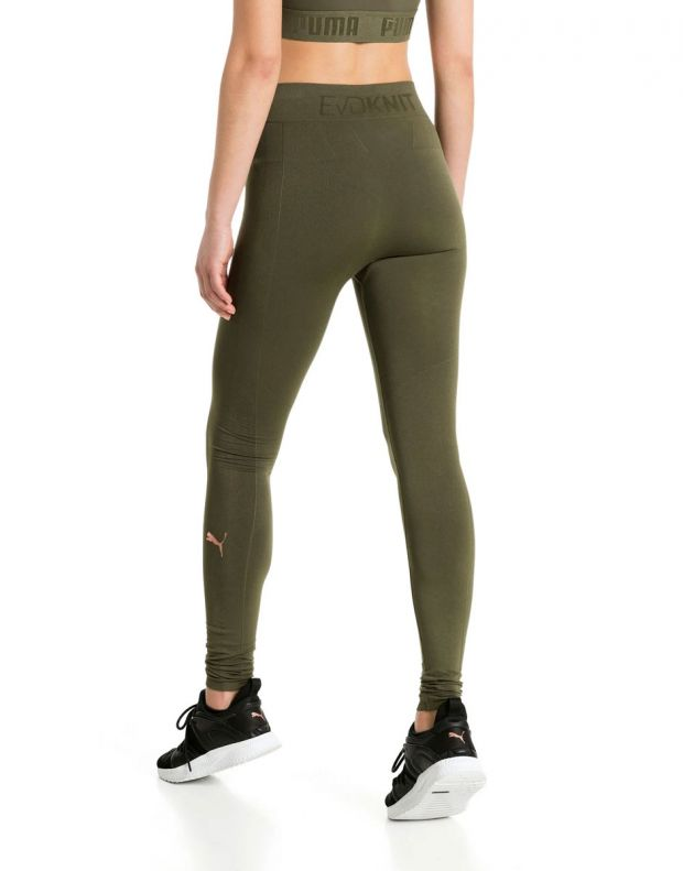 PUMA Evo Knit Legging Green - 592333-14 - 2