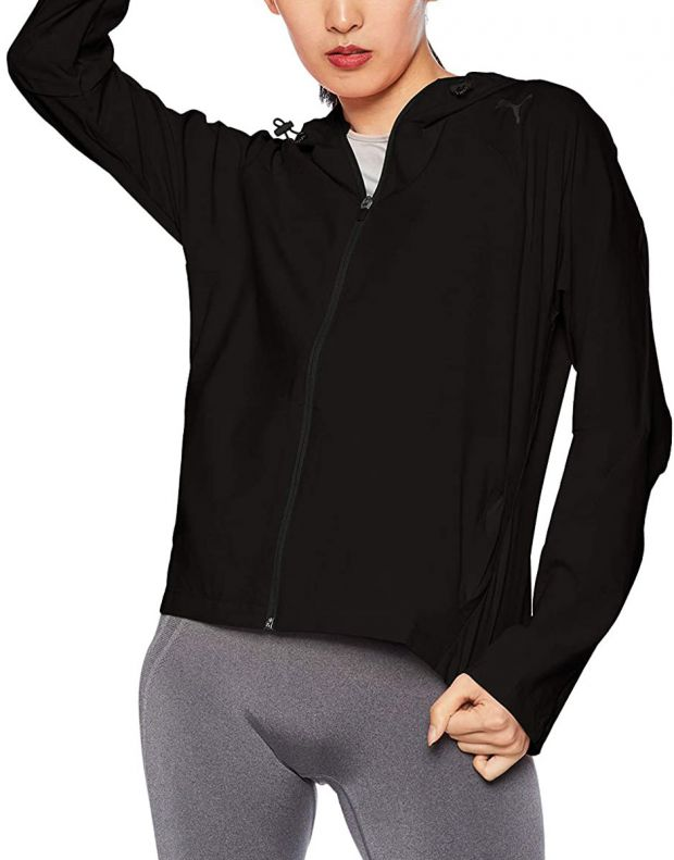PUMA Evrostripe Move Woven Jacket Black - 844010-01 - 1