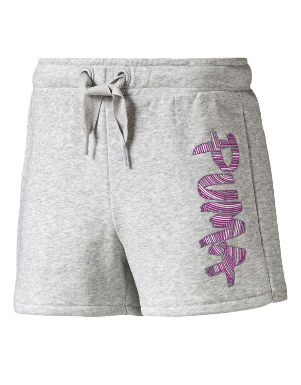 PUMA Fun Td Shorts L. Grey - 836609-04 - 1