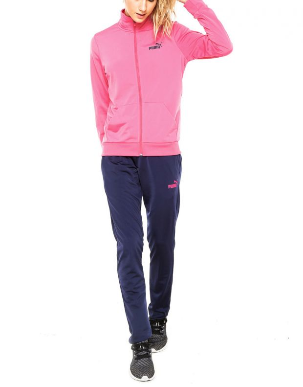 PUMA Fundamentals Active Poly Suit Pink/Navy - 838619-24 - 1