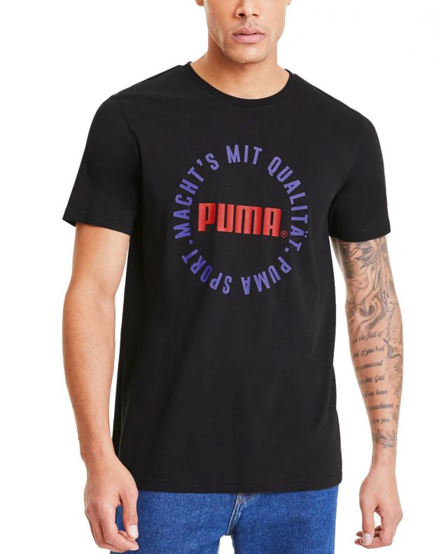PUMA Graphic Tfs Tee Black - 597431-51 - 1