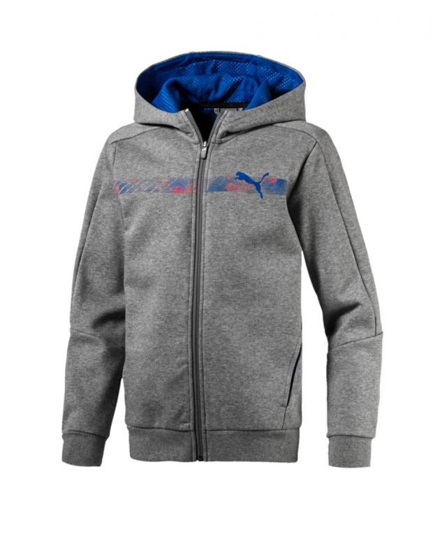 PUMA Hero FZ Hoody Grey - 593273-03 - 1