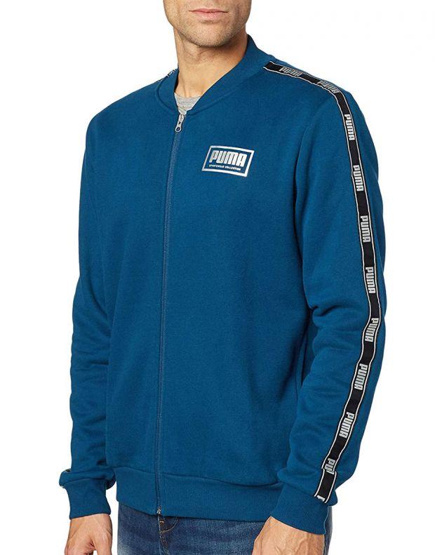 PUMA Holiday Pack Full Zip Bomber Jacket Blue - 581767-38 - 1