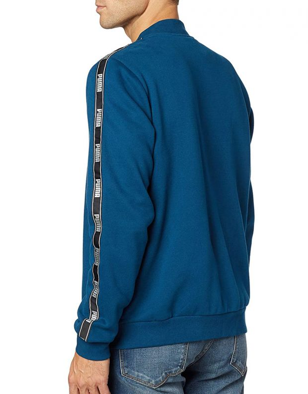 PUMA Holiday Pack Full Zip Bomber Jacket Blue - 581767-38 - 2