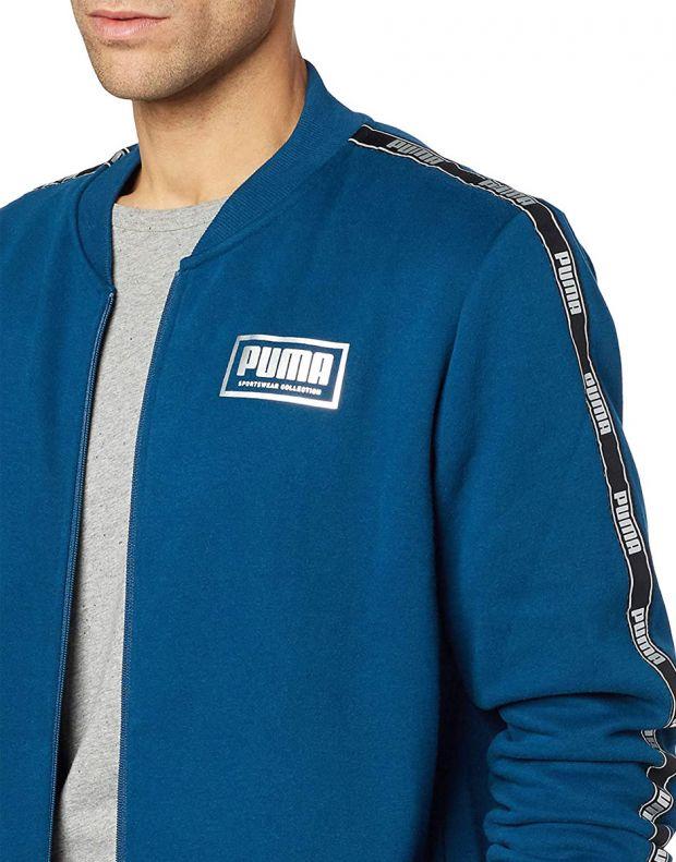 PUMA Holiday Pack Full Zip Bomber Jacket Blue - 581767-38 - 3