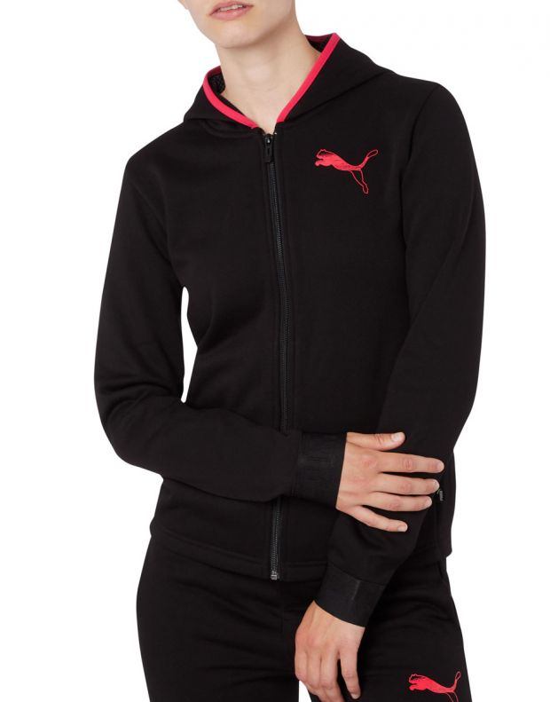 PUMA Hooded Zip Jacket Black - 580590-01 - 1