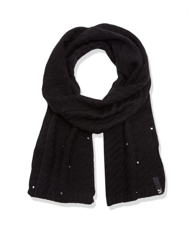 PUMA Jewel Knit Scarf Black - 052598-01 - 1