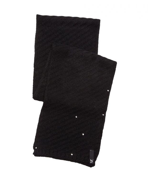 PUMA Jewel Knit Scarf Black - 052598-01 - 2