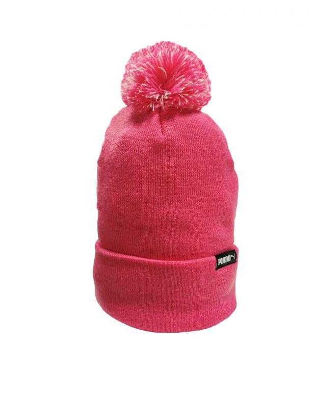 PUMA LS Core Knit Pom Pom Beanie Pink - 021374-04 - 2