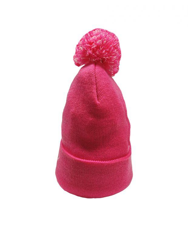 PUMA LS Core Knit Pom Pom Beanie Pink - 021374-04 - 3