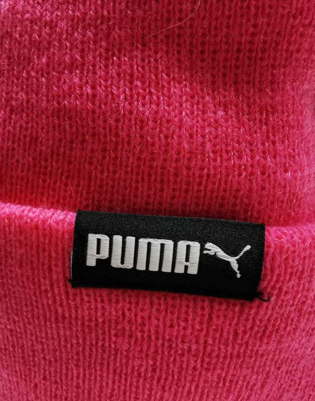 PUMA LS Core Knit Pom Pom Beanie Pink - 021374-04 - 4