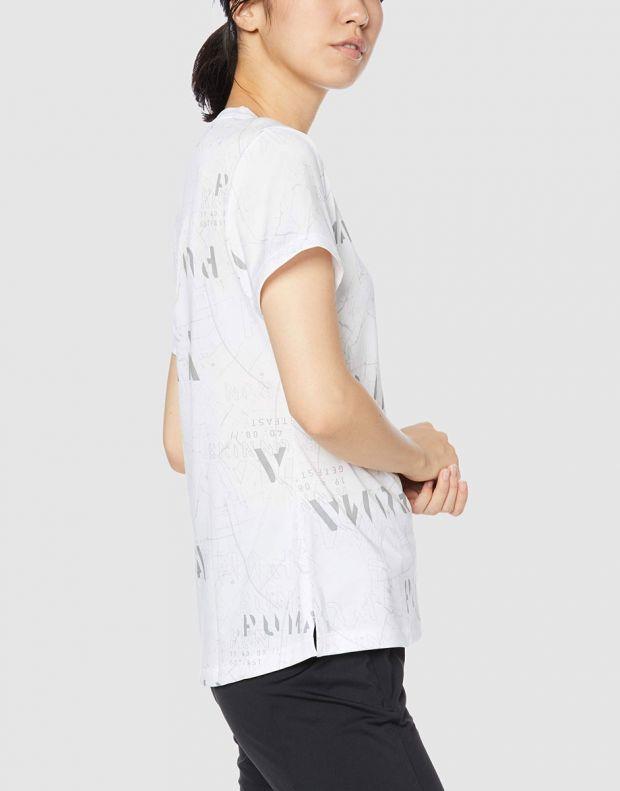PUMA Last Lap Graphic Tee White - 518754-03 - 3