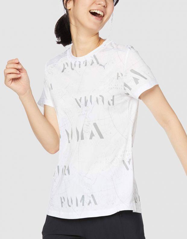PUMA Last Lap Graphic Tee White - 518754-03 - 4
