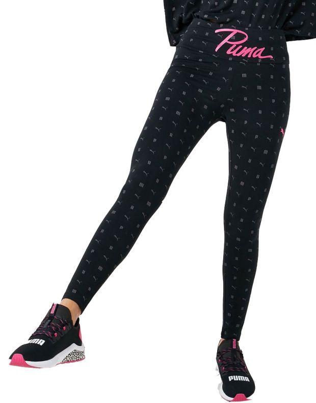 PUMA Logo Aop Pack Leggings Black - 581807-01 - 1