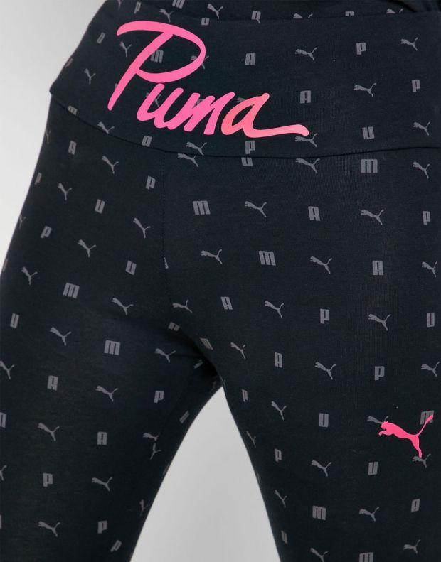 PUMA Logo Aop Pack Leggings Black - 581807-01 - 3