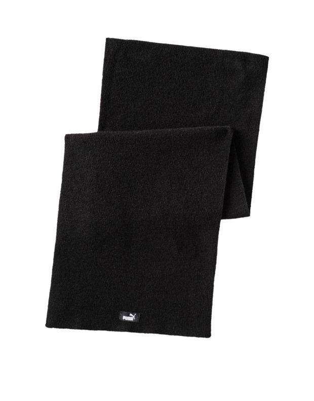PUMA Long Knit Scarf Black - 053256-04 - 1